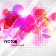 Abstract vector shining background — стоковый вектор #15629121