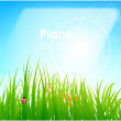 Spring  background design — Stock Vector