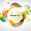 图库矢量图片: Abstract vector shining background
