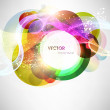 Abstract vector shining background — стоковый вектор #15643001