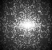 Seamless Damask wallpaper — 图库矢量图片