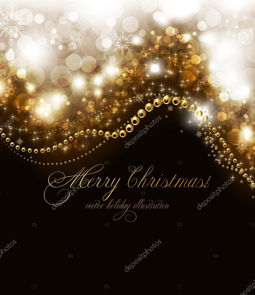 elegant christmas background place for new year text elegant christmas background place for new year text invitation stock vector 15782839