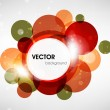 Abstract vector shining background — Vector de stock #15825217