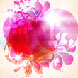 Abstract background with pink flower pink blots - 图库矢量图片