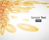 Abstract techno background vector — Stock Vector