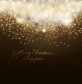 Elegant christmas background with place for new year text invitation — Vector de stock