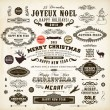Royalty-Free Stock Vektorfiler: Christmas decoration collection.