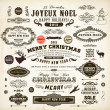 Royalty-Free Stock Imagen vectorial: Christmas decoration collection.