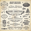 Christmas decoration collection. — Vector de stock  #16108039