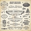 Christmas decoration collection. — Vetor de Stock  #16108039