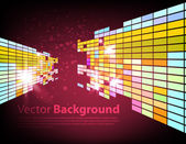 Abstract technology background — Stock Vector