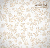 Seamless white Damask wallpaper — Wektor stockowy