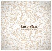 Bezešvé bílé damaškové tapeta — Stock vektor