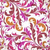 Luxus frühlings grußkarte. floral ornament mit blüten für sommer-design — Stockvektor