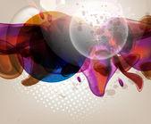 Arka plan parlayan tasarlamak vektör — Stok Vektör