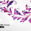 Floral Background — Stockvectorbeeld