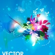 Vector spring illustration for summer design. — Stockvectorbeeld