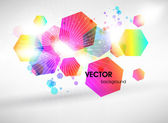 Abstract vector shining background — Stock Vector