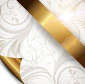 Seamless spring or summer wallpaper, vector background for design. — Stock Vector