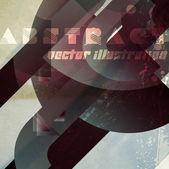 Vetor abstrato arte digital — Vetorial Stock