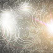 Seamless damask fond d'écran — Vecteur