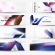 Abstract header vector set — Stockvektor #16654385
