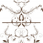 Set of floral elements for design. — Stock Vector #16991525