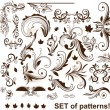 Royalty-Free Stock : Set of floral elements for design.