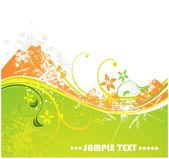 Automne illustration vectorielle pour la conception. — Vecteur