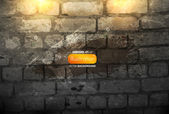 Brick-wall illustration — Vector de stock
