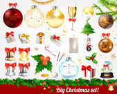 Gran juego de navidad — Vector de stock