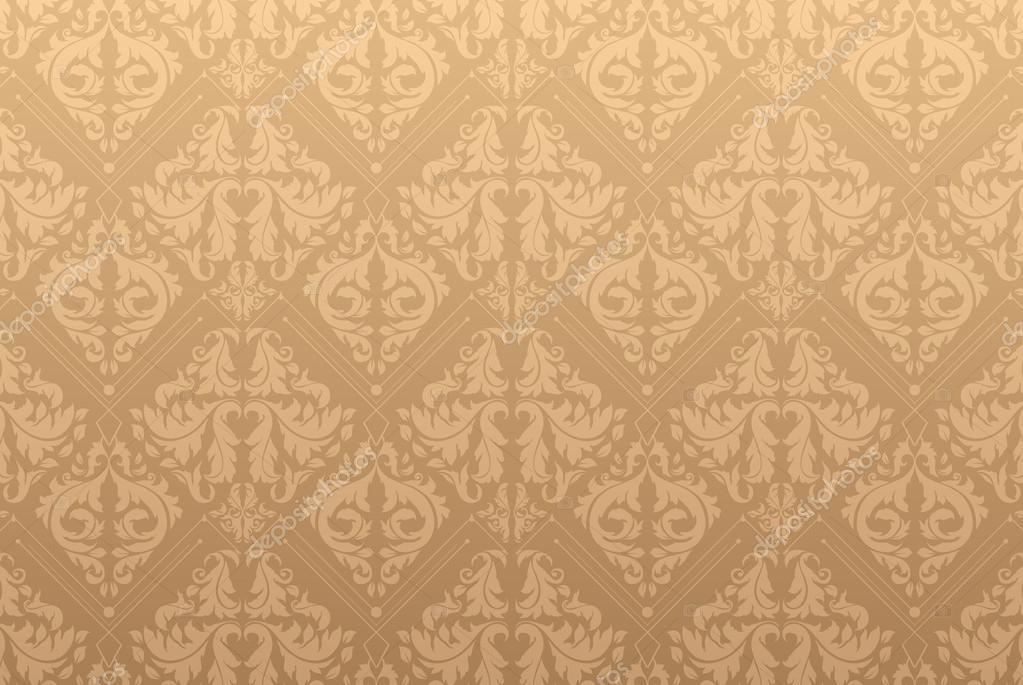 Elegante sfondo damascato con modello di carta da parati for Carta parati elegante