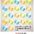 Vector buttons for design - Stock Vector