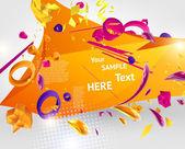 Shiny eps10 background — Stock Vector