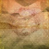 Elegantní damaškové pozadí s klasické tapety vzor, poněkud výstřední textury a efekty — Stock vektor
