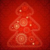 圣诞背景矢量图像 — 图库矢量图片