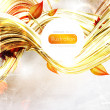 Royalty-Free Stock Vectorielle: Abstract background in autumn colors. Vector