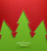 Christmas background vector image — Vettoriale Stock