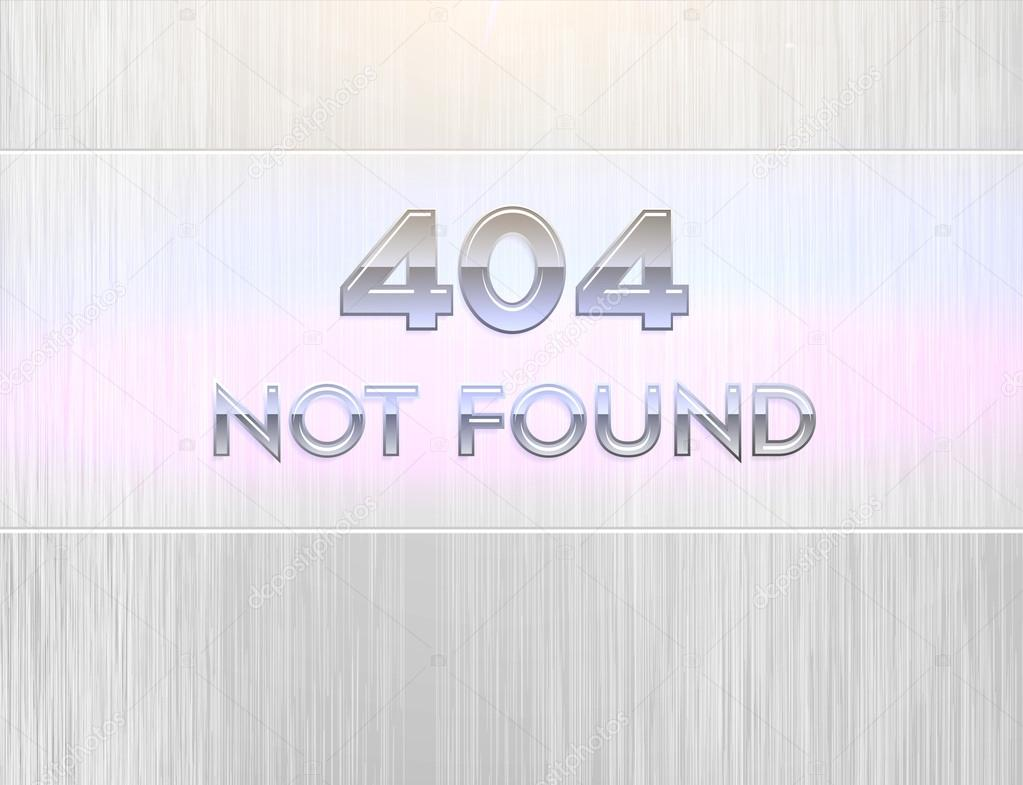 404 error page — Stock Vector #17644443