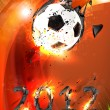 Stockvektor : Football 2012