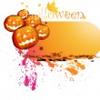 Halloween illustration for design. - Stock vektor