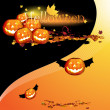 Stock Vector: Halloween illustration for design.
