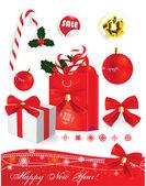 Nápis-vánoční výprodej. vektor — Stock vektor
