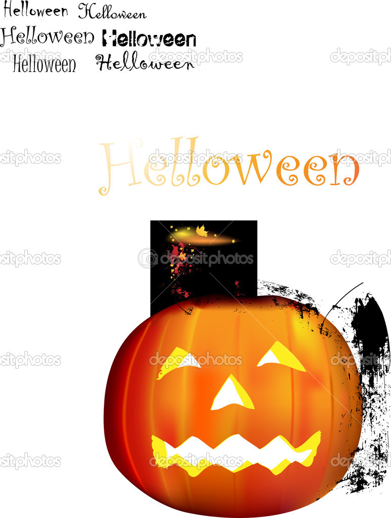 Halloween illustration for design. — Stock Vector #17886197