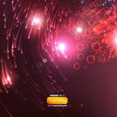 Eps10 brillante fondo — Vector de stock