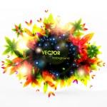 Autumn background — Stock Vector #17990703