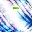 Abstract technology background - vector illustration. Eps10. — Vector de stock