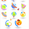 Set of vector design elements — Stock Vector