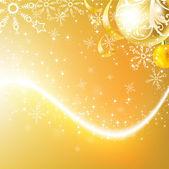 つまらないとエレガントなクリスマス背景 — ストックベクタ