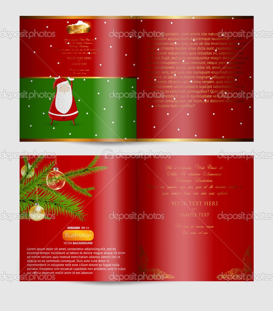 blank christmas flyer template christmas magazine blank page blank christmas flyer template